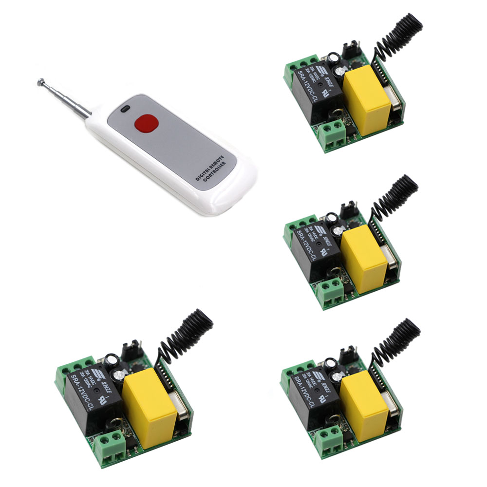 AC 220V Wireless Remote Control Switch Radio Light Switch Remote ON/OFF 10A 1 CH Relay Wireless Receiver One Button Transmitter 220v ac 10a relay receiver transmitter light lamp led remote control switch power wireless on off key switch lock unlock 315433
