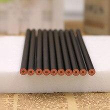цена Black minimalist pencil HB wooden pencil sketch pencil learning office writing pen school writing supplies онлайн в 2017 году