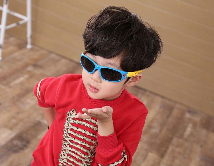 ed8735723dee0 Warblade TAC marca niños flexibles Gafas de sol polarizadas niño ...