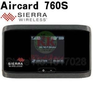 Débloqué Original AirCard 760 s LTE 100 Mbps 4G mifi routeur dongle 4G 3g LTE wifi routeur PK AirCard 754 S 753 S e5776s e5372