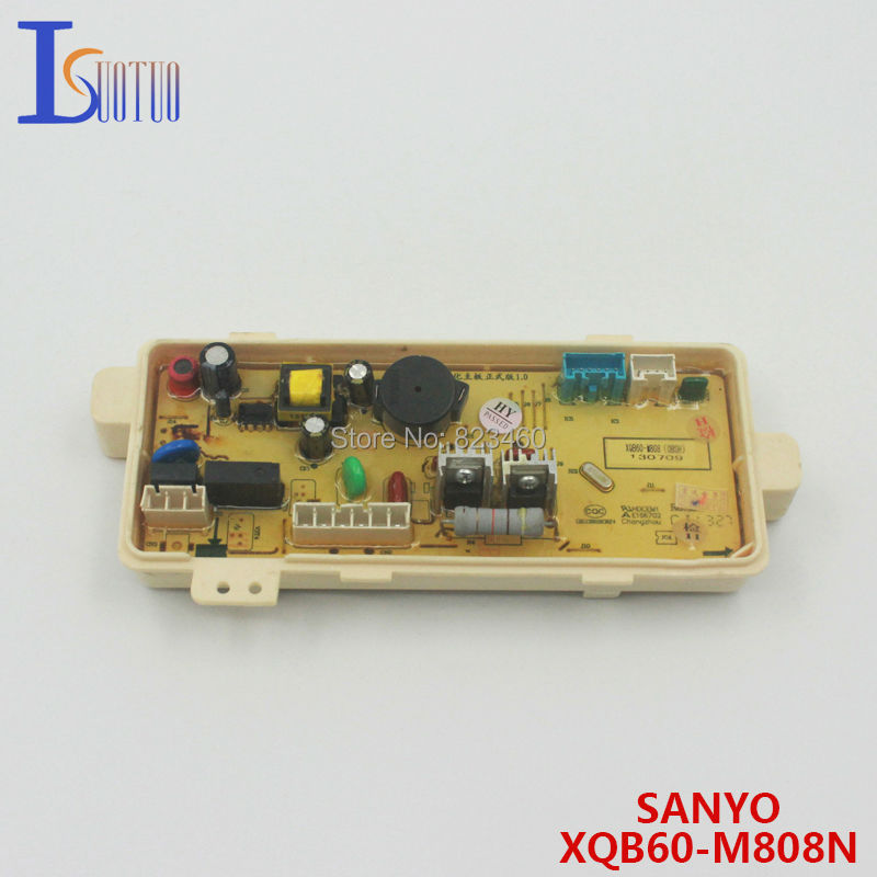 Original SANYO washing machine board XQB60-M808N computer board XQB60-M808N(OBSH) wire universal board computer board six lines 0040400256 0040400257 used disassemble