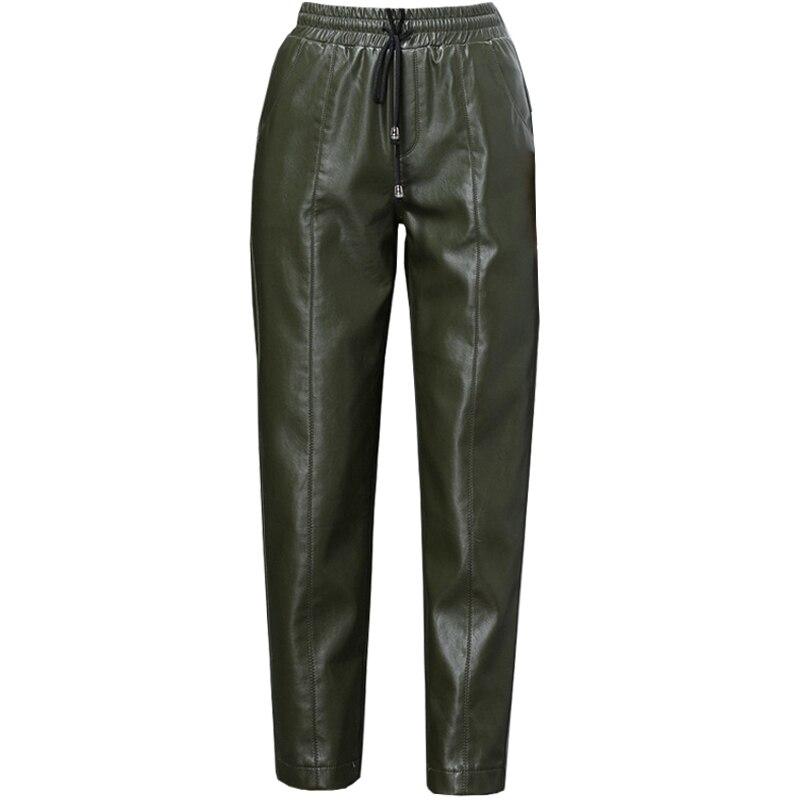 Dell'unità A Della 1 2 Dei Autunno Pelle Matita 3 Harem Nuovo 4 Pecora Pantaloni Alta Dimensioni Cuoio Femminili Elaborazione Grandi Elastica Inverno 5 Di Vita t1vxvnZqwR