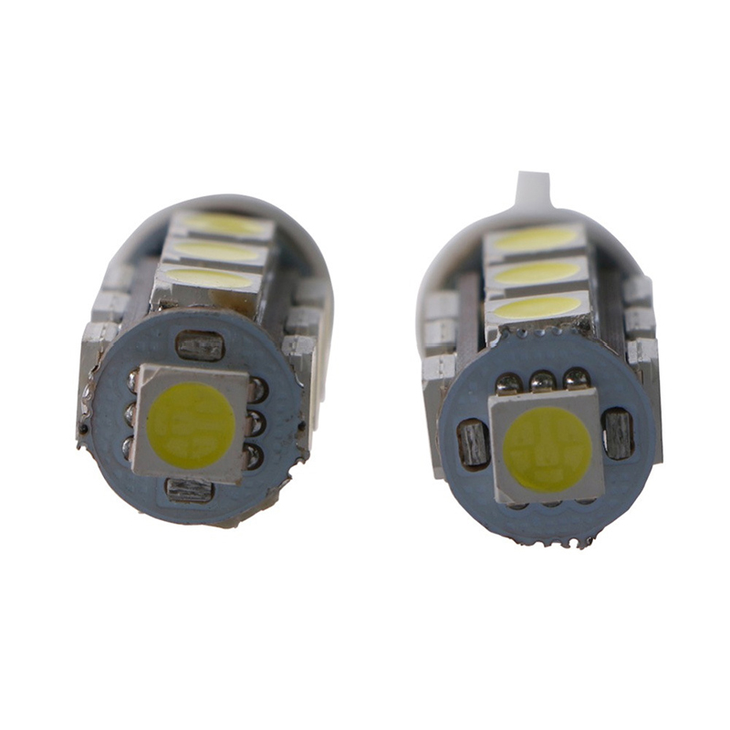 50pcs T10 5050 194 168 W5W 13 SMD 13 LED Super Bright Light Bulb Lights Auto Lighting Parking Reading Light 12V High Quality in Signal Lamp from Automobiles Motorcycles