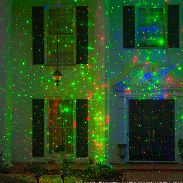 Details Of Cheap Outdoor Christmas Laser Lights Christmas: Outdoor Laser Projector Light Waterproof Garden Path Pond