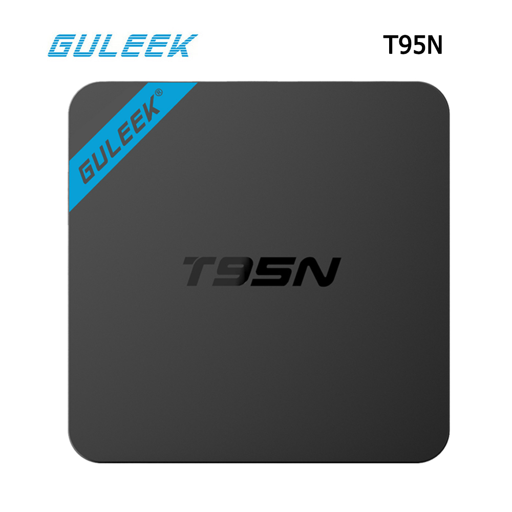 Boxs T95N tv media Android 6.0 TV Box S905X 64 bit Quad core Frenquency 2.0G 1G