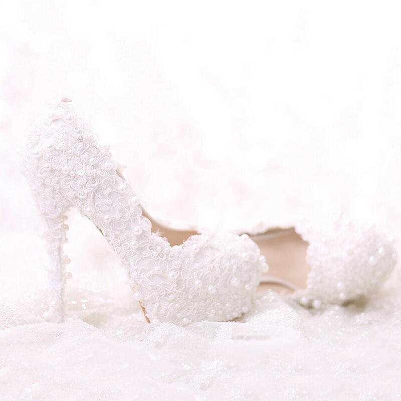 Talons Femmes Toe Flat Bouquet 2018 Heel Douce Perle De 9cm 7cm Mariage white White Dentelle Chaussures Dernière 5cm Robe Blanc Heel pointed Confortable Heels Parti pointed 12cm Heels Mariée 14cm Heels 10cm Belle Haute white 8cm 1qaFywOSz5
