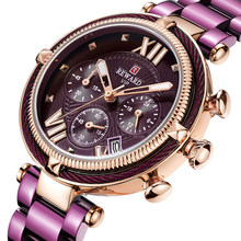 BELONING Top Merk Vrouwen Horloges Waterdicht Fashion Casual Quartz Chronograaf Dames Jurk Horloge Vrouwen Klok Relogio Feminino(China)