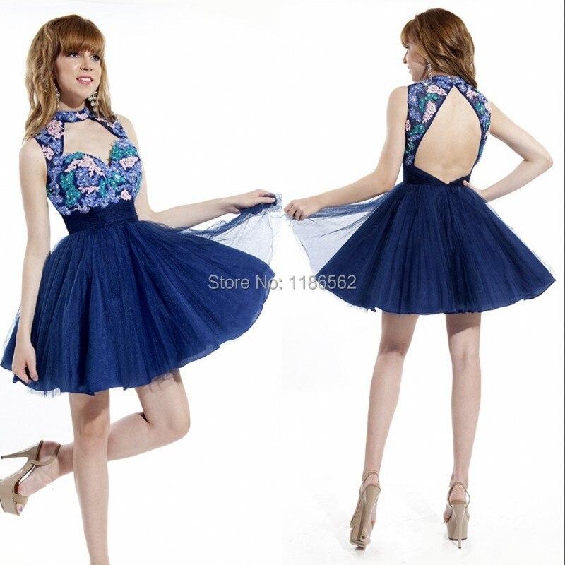 Online Buy Wholesale dark blue homecoming dresses from China dark ...