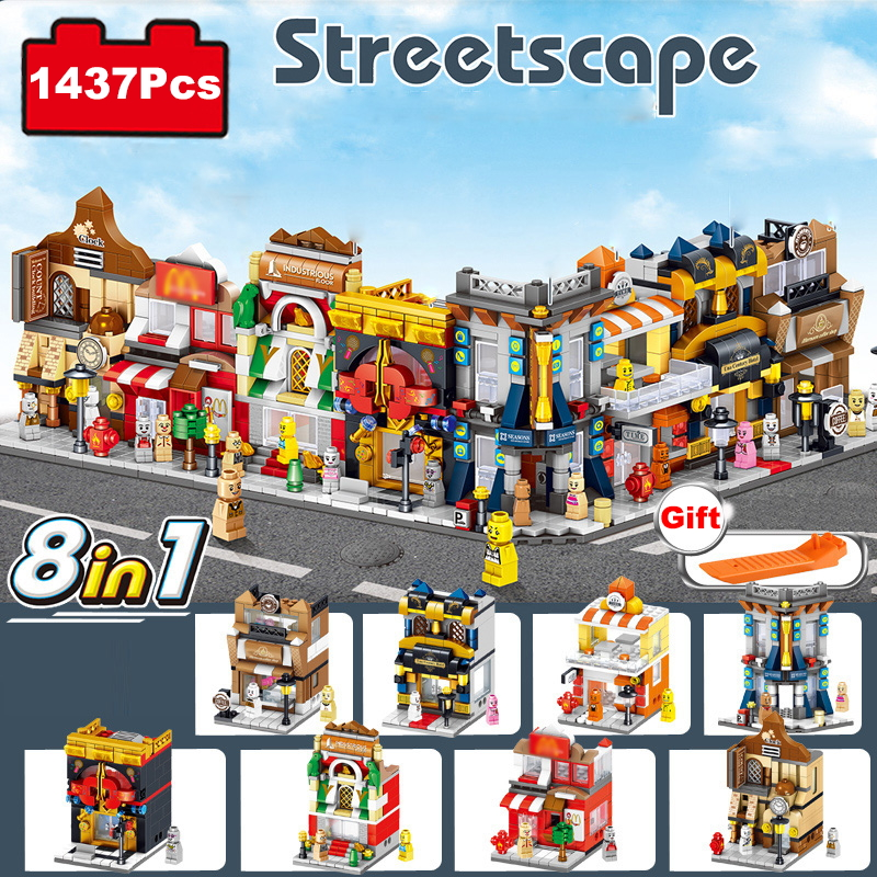 Model Building Toy Compatible With Legoed Minecraft 21134 568pcs Mysterious Waterfall Hut House My World Building Bricks Toys Less Expensive Toys & Hobbies Blocks