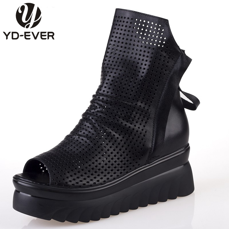 get cheap peep toe wedge boot aliexpress