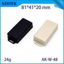 10   pieces a lot  cabinet electrical 81*41*20 mm 3.2*1.6*0.79 inch  case plastic electronics abs plastic enclosure цена