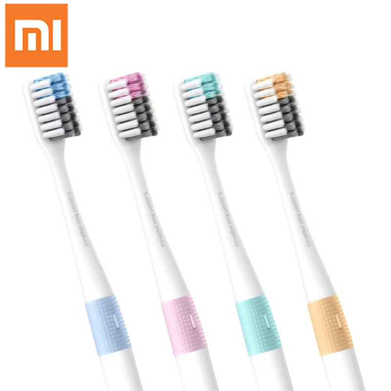 Original Xiaomi DOCTOR B Toothbrushs 4pcs Deep Cleaning Toothbrush Including Travel Box For Adult Teeth Cleaning Oral Care цена