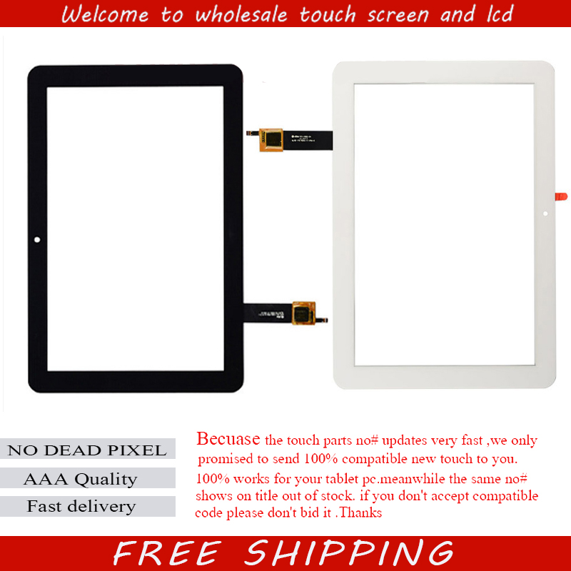 For Acer Iconia Tab A3-A20 10.1 inch Touch Screen Panel Digitizer Sensor Glass White color in stock free shipping original new 10 1 inch touch panel for acer iconia tab a200 tablet pc touch screen digitizer glass panel free shipping