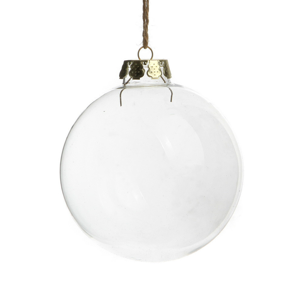 Memory glass bauble fillable christmas ornaments Party Wedding ...
