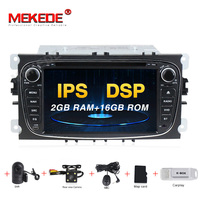 MEKEDE 2 Din Car Radio Android 9 For FORD/Focus/S MAX/Mondeo/C MAX/Galaxy Car Multimedia Video DVD Player GPS USB DVR WIFI FM/AM