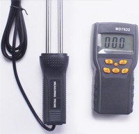 10pcs Lot By Dhl Or Fedex MD7822 LCD Digital Grains Moisture Meter Rice Corn Wheat Thermometer