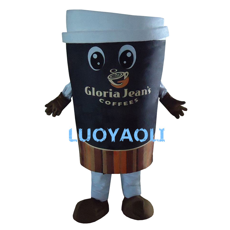 Hohe Qualität Kaffeetasse Erwachsene Plüsch Maskottchen Kostüm - Kostüme - Foto 1