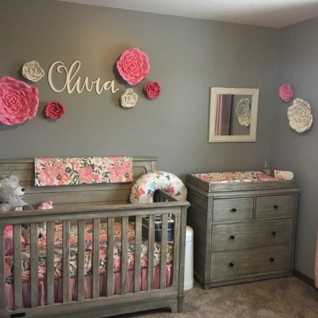 Kids Room Decor Nursery Name Letters
