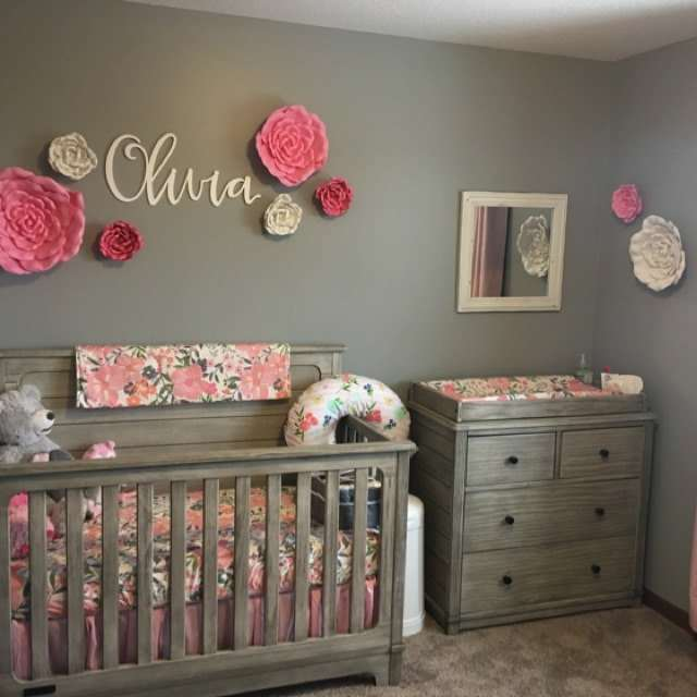Baby Bedroom Wall Decor Wooden Letters
