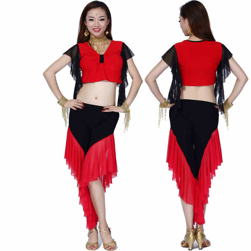 Belly Dance Skirt Dance Costumes Dancing Women Costume Comfortable Set 2016 Spring And Summer New Style Of Milk Practice Suit