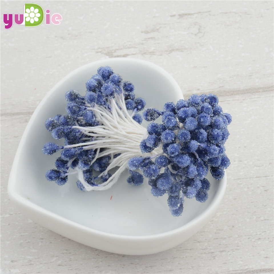 150PCS/lot Wholesale Multicolor DIY 5 Mm Foam Flower Stamen Pistil Stamen Cake Decoration And DIY