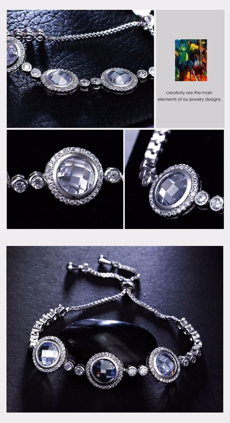 3A zirconia Stunning Elegant bracelet