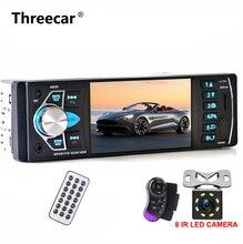 Один din Автомобильный мультимедийный MP5 видео плеер Автомобильный аудио стерео камера заднего вида FM bluetooth Поддержка рулевое колесо управление