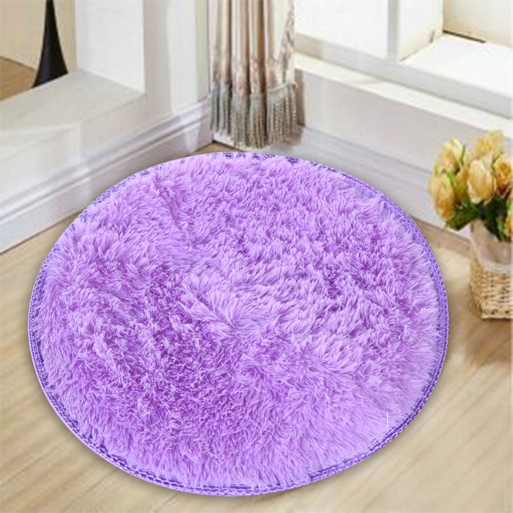 approx 40cm2cm home decor bedroom mat door floor carpet puzzle mat fluffy round foam rug non slip shower mats