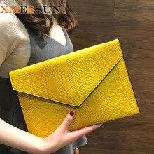 XMESSUN Snake Clutch Bag 2020 New Bag Large Capacity Personality Ladies Handbag Shoulder Bag Crossbody Bag Drop shipping F79