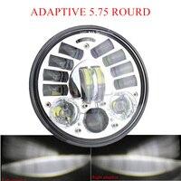 5,75 Daymaker светодиодный Адаптивная Мотоцикл 5 3/4 в горошек фара для Harley Davidson Sportster 1200 XL1200L пользовательские XL1200C 883 XL883
