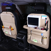 New Car Fold Dining Rack Seat Storage Bag Hanging Bags Car Seat Back Bag Car