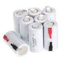 Anmas Power 2-20 Pcs Sub C SC 1 2 V 1800 mAh NiCd Akkus & Tab Weiß