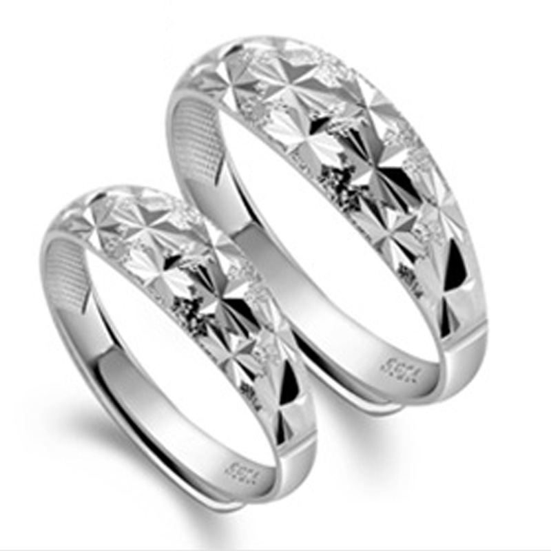 925 sterling silver engagement and wedding rings couples ring for men and women his and her - Cheap Wedding Ring Sets For Her