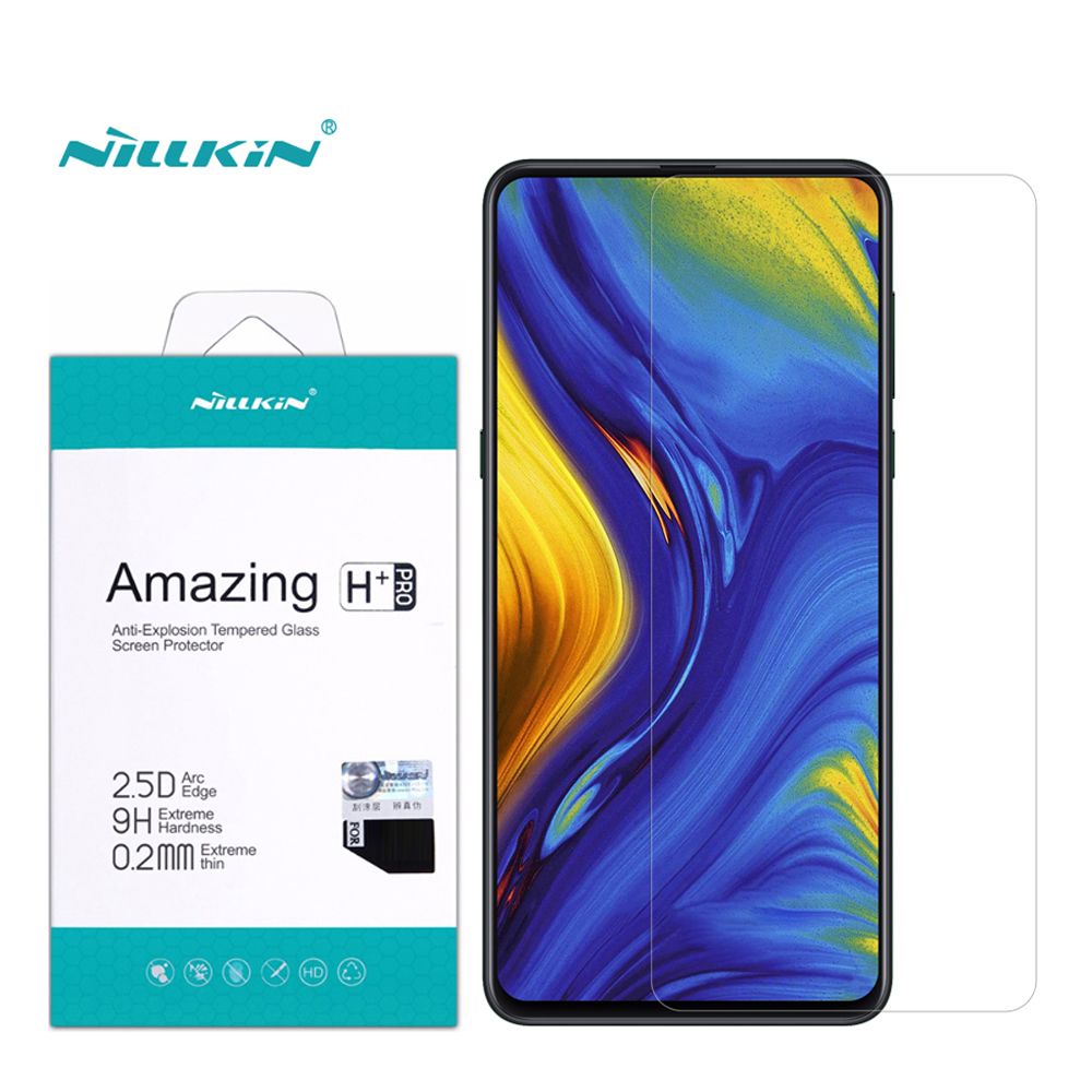 For Xiaomi Mi Mix 3 Tempered Glass Mi Mix 3 Screen Protector Nillkin Amazing H+Pro 9H 0.2mm 2.5D Glass For Xiaomi Mi Mix 3|Phone Screen Protectors| |  - title=