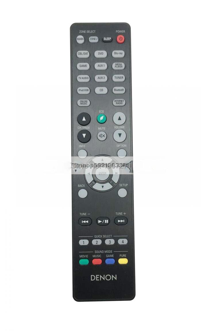 New Original remote control  for denon AVR-X3200W AVR-X3100W AVR-S920W AVR-S900W av Power amplifier free shipping new factory original remote control rc003pm for marantz cd av amplifier
