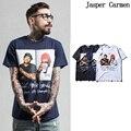 2017 мужской летней Европа прилив бренда Тайсон мужская Футболка печати Хип-Хоп тенниска мужчины clothing cotton t shirt 28wy