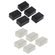5Pcs New Plastic Electronic Project Box Enclosure Instrument Case DIY 70x45x30mm  for electronic projects power supply units 5pcs 32x24x18mm brand new durable rubber instrument case non slip cabinet instrument box case foot bumpers feet
