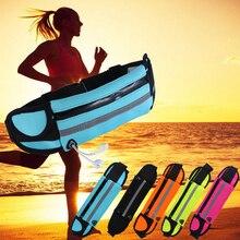 Водонепроницаемая поясная сумка для бега, Спортивная Противоугонная тонкая тактическая сумка для сотового телефона