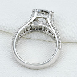 New 2 ct round aaa cz 925 sterling silver wedding ring fashionable design jewelry for women.jpg 250x250