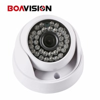 1 4 CMOS Sensor IR Cut Filter Dome 720P Indoor 1 0MP IP Camera With Audio
