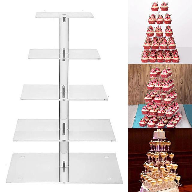 Transparent Cake Stand