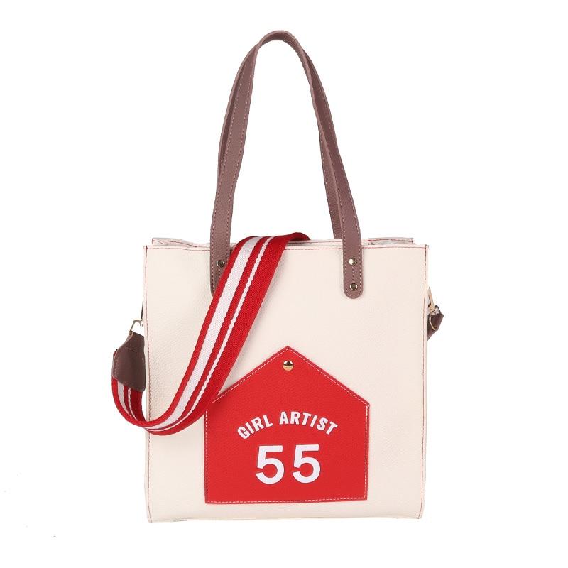 Women Lady Handbag Shoulder Crossbody Bag Bucket Fashion Colorful Strap For Travel LXX9