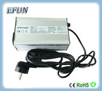 Free shipping 29.4V 6A 180W fast charging charger for 24V Lithium ion ebike battery