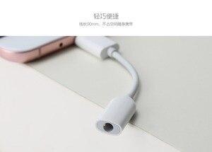 Image 5 - Orijinal Xiaomi USB3.1 Tip C için 3.5mm Kulaklık Adaptörü USB 3.1 C Tipi C Tipi USB C erkek 3.5 AUX ses kadın Mi6 P10 S8