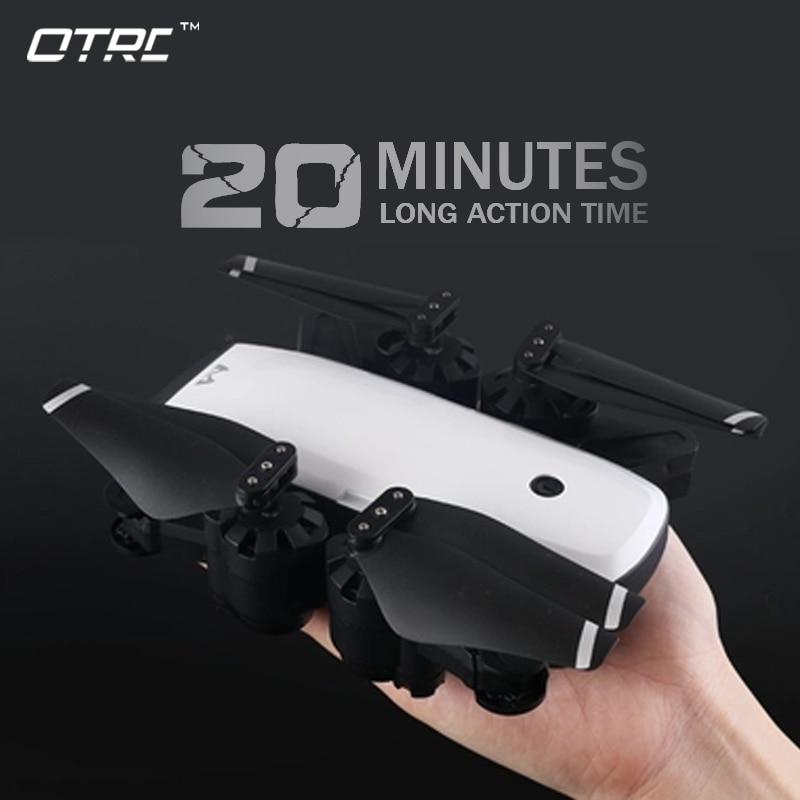 Novo Zangão Com Câmera wi-fi 1080P ou 720p HD 5MP Pairar S20 bolso Helikopter RC Drones RC Quadcopter brinquedos dom longo tempo actione