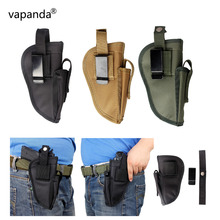 Vapanda Gun Holster Tactical Magazine Pouch Gun Holster Belt Clip Left Right Interchangeable Pistol Glock Hand Gun Holsters