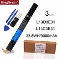 KingSener Corea celular L13D3E31 Tablet batería para LENOVO YOGA 10 B8000 B8080 B8000-F B8000-H B8080-H B8080-F L13C3E31 L13D3E31