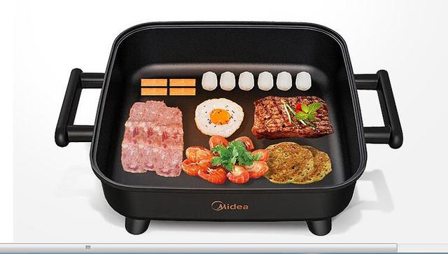 Midea Korean style Home Multifunction 6L Hot Pot Frying Machine Electric Stove Cooker Frying Grilled Fish Pan Fry braise stew 5