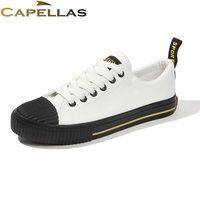 CAPELLAS New Fashion Leisure Men Casual Canvas Shoes Spring Summer Men S Casual Shoes Zapatos Brand
