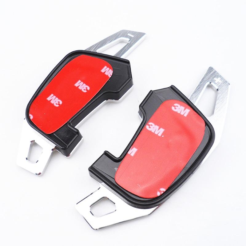 Volante DSG Paddle Extensão Shifter Shifters Volkswagen Adesivo Capa para VW Golf GTI R GTE GTD MK7 * Não para golf 7 *